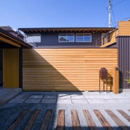 遠藤の家~中庭から穏やかな光が差し込む家~ (遠藤の家 外観1)