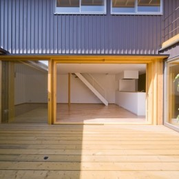 遠藤の家~中庭から穏やかな光が差し込む家~ (遠藤の家 中庭2)