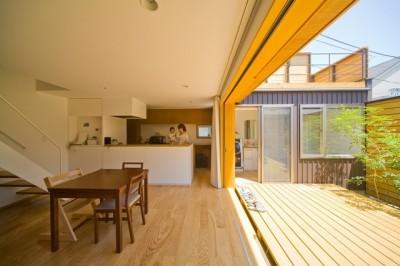 遠藤の家 日々の風景1 (遠藤の家~中庭から穏やかな光が差し込む家~)