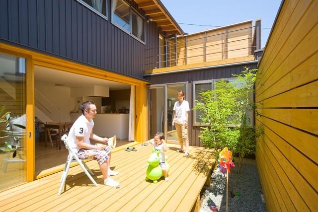 遠藤の家~中庭から穏やかな光が差し込む家~ (遠藤の家 日々の風景3)