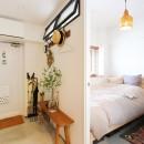 暮らしのエッセンスの写真 玄関土間/寝室