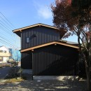 早田雄次郎建築設計事務所の住宅事例「小谷の家~街並みに庭を寄与する家~」