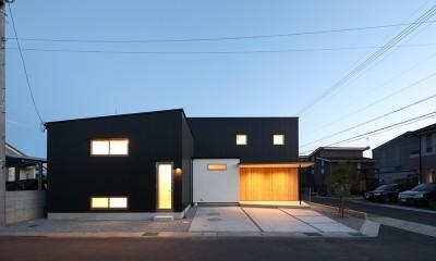 House in Nakasuji~剣道場のある家~ (外観04)