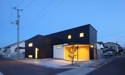 House in Nakasuji~剣道場のある家~ (外観05)