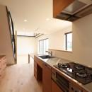 House in Nakasuji~剣道場のある家~の写真 キッチン01