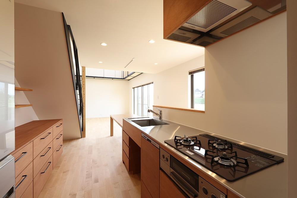 House in Nakasuji~剣道場のある家~ (キッチン01)