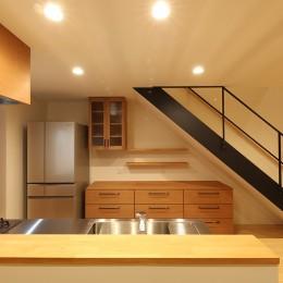 House in Nakasuji~剣道場のある家~ (キッチン03)