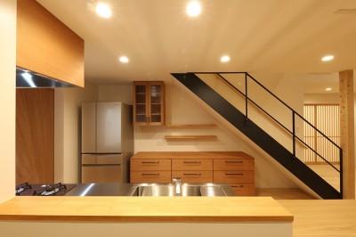 キッチン03 (House in Nakasuji~剣道場のある家~)