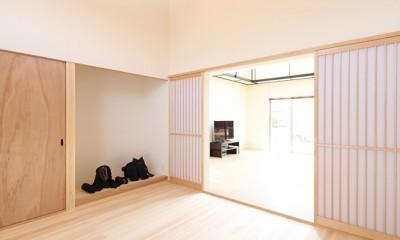 剣道場|House in Nakasuji~剣道場のある家~