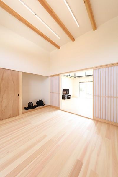 剣道場 (House in Nakasuji~剣道場のある家~)