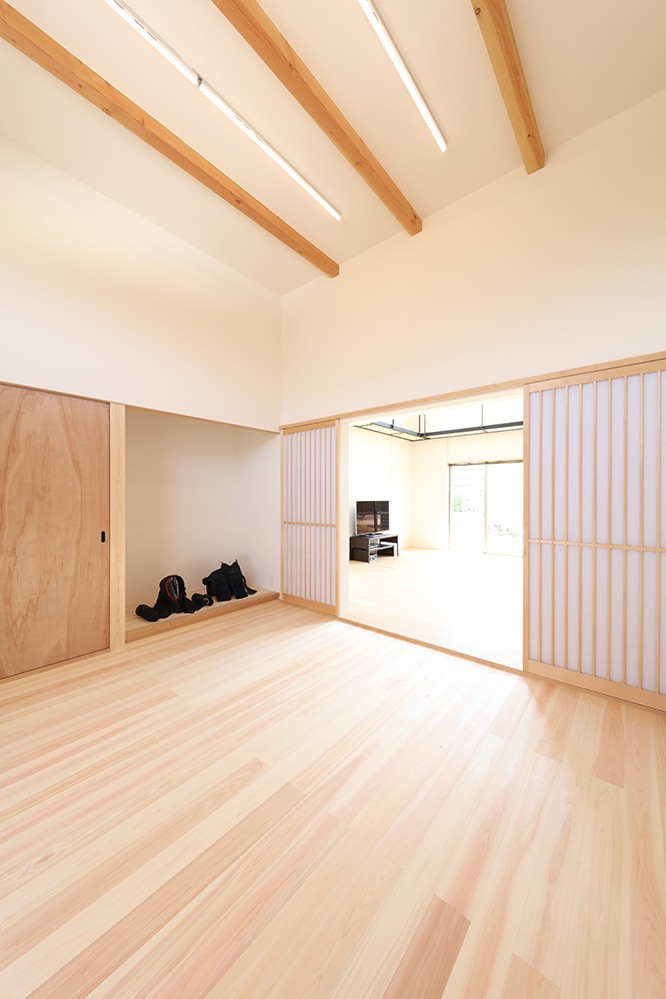 House in Nakasuji~剣道場のある家~ (剣道場)