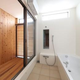 House in Nakasuji~剣道場のある家~ (浴室)