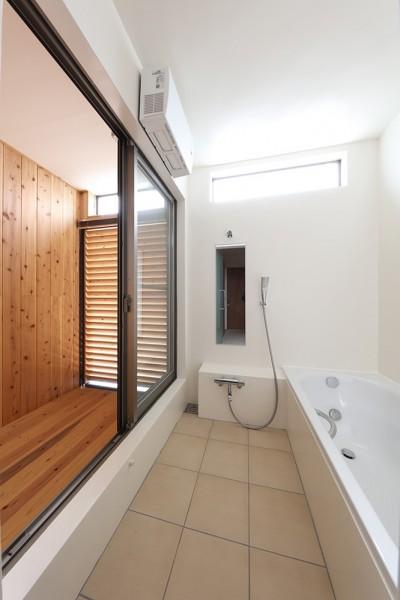 浴室 (House in Nakasuji~剣道場のある家~)