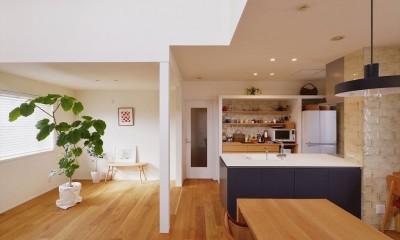 M邸_余白がつくり出す、ゆとりの空間