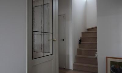 階段のリノベーション|能登川の家リノベーション
