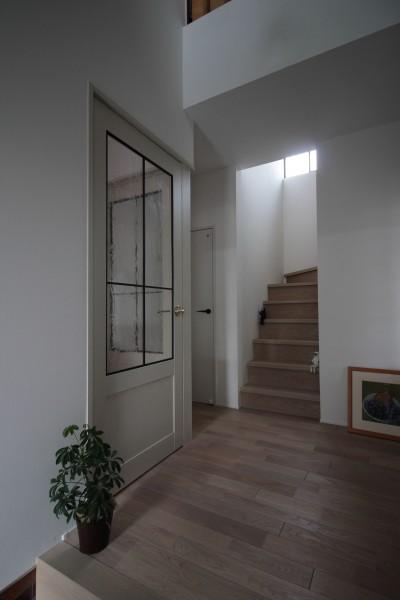 階段のリノベーション (能登川の家リノベーション)