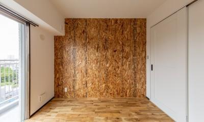 洋室②|広々な土間収納、広々なリビング。天然無垢材をふんだんに使用した、思いの詰まったステキな空間。