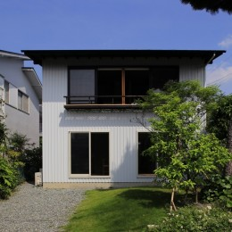片瀬海岸の家~記憶の風景~ (片瀬海岸の家 外観2)