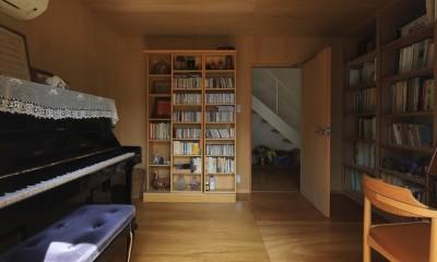 片瀬海岸の家 音楽室1|片瀬海岸の家~記憶の風景~