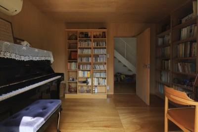 片瀬海岸の家 音楽室1 (片瀬海岸の家~記憶の風景~)