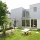 中庭とインナーバルコニーのある贅沢な家A