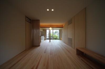 寝室 (beta tour/フルリノベーション、同じ器に住み続ける価値を考える。)