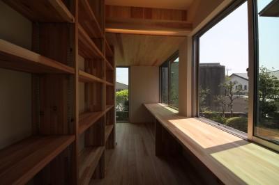 書斎 (beta tour/フルリノベーション、同じ器に住み続ける価値を考える。)