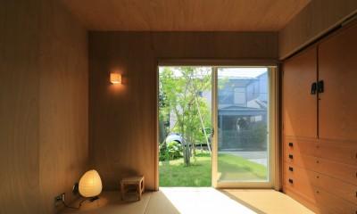 片瀬海岸の家~記憶の風景~ (片瀬海岸の家 寝室(和室))