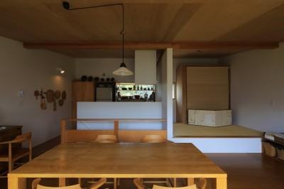 片瀬海岸の家 リビングダイニングキッチン・1 (片瀬海岸の家~記憶の風景~)