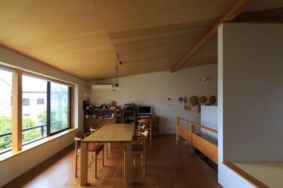 片瀬海岸の家 リビングダイニングキッチン・2 (片瀬海岸の家~記憶の風景~)