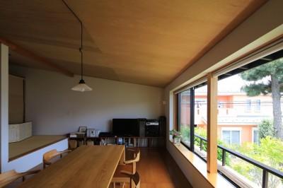 片瀬海岸の家 リビングダイニングキッチン・3 (片瀬海岸の家~記憶の風景~)