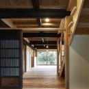 鎌倉の住まい_古材を使った和モダンデザインの写真 鎌倉の住まい_玄関