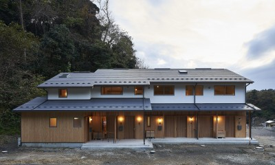 鎌倉の住まい|鎌倉の住まい_古材を使った和モダンデザイン