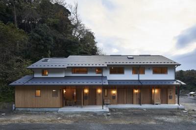鎌倉の住まい (鎌倉の住まい_古材を使った和モダンデザイン)