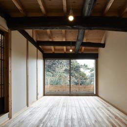 鎌倉の住まい_古材を使った和モダンデザイン (鎌倉の住まい)