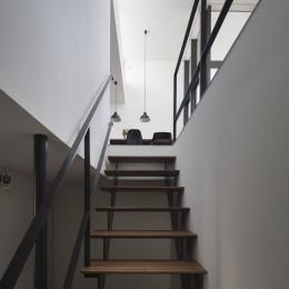 祐天寺のいえ (階段)