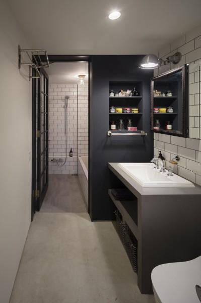 洗面浴室 (Vintage house)