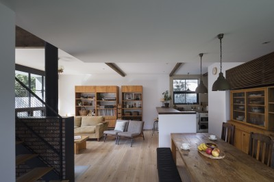 ダイニングキッチン (Primitive house)