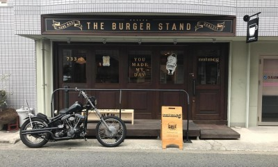 THEBURGERSTAND natmeg ( ハンバーガーショップ ) (ヴィンテージ感あふれる外観)