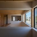 植村康平の住宅事例「いつでも空が見える吹き抜けと、公園のような庭のある家」