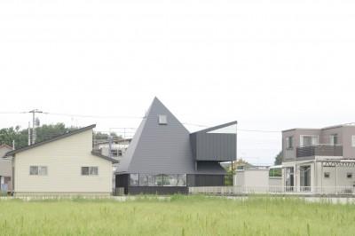 外観 (サンカクヤネノイエ)