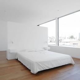 西麻布L邸 (ベッドルーム)