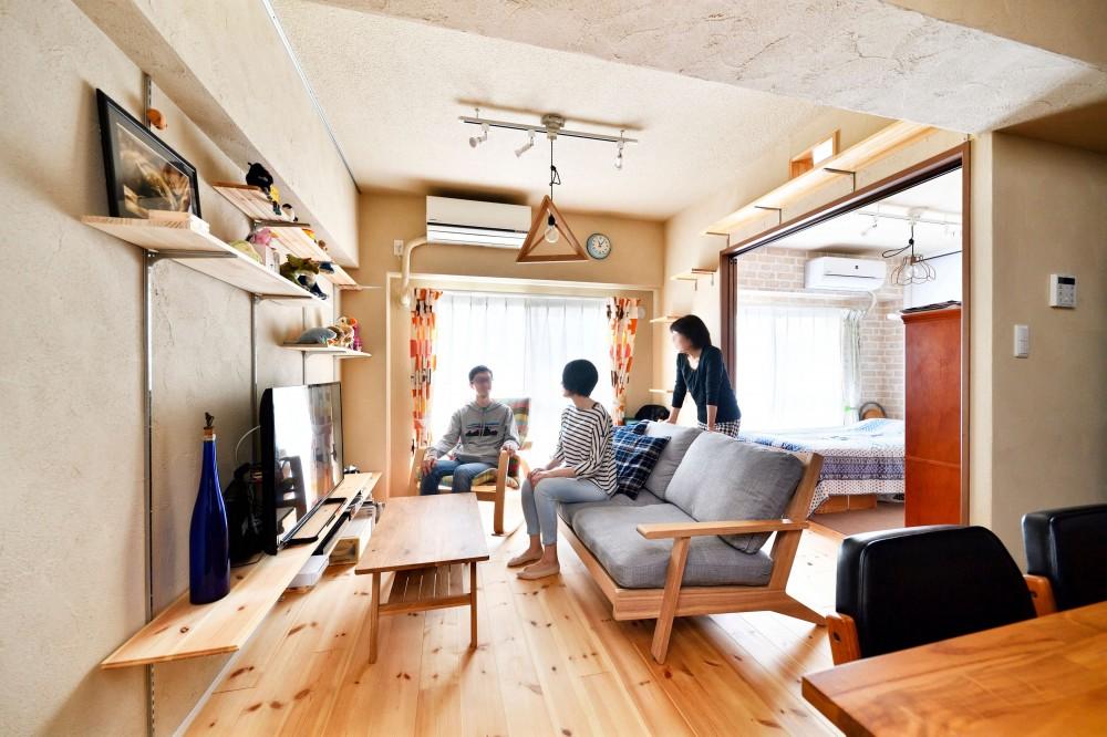横浜市H様、N様邸 ~ここちよいキョリで暮らす~ (リビング・ダイニング)