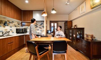 横浜市H様、N様邸 ~ここちよいキョリで暮らす~ (キッチン・ダイニング)