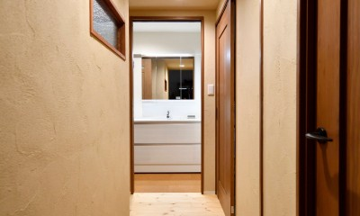 廊下|横浜市H様、N様邸 ~ここちよいキョリで暮らす~