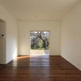 片瀬の家~雛壇敷地に建つ、桜を望める二世帯住宅~ (片瀬の家 子世帯LDK・2)