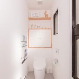 ACE~ビルのワンフロアを広々と使い、団らんの時、趣味の時を堪能する住まい~ (トイレ)