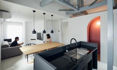 manish-新築の一軒家をリノベーションするってもったいない? (リビングダイニングキッチン)