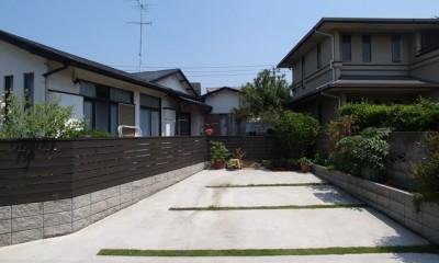 Y邸改修 外観駐車スペース・1|Y邸改修