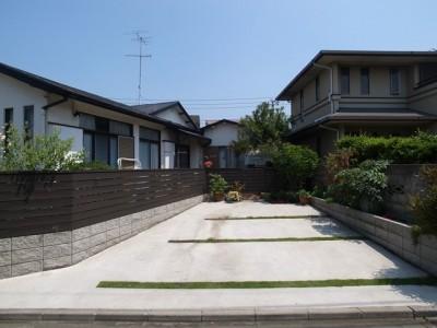 Y邸改修 外観駐車スペース・1 (Y邸改修)